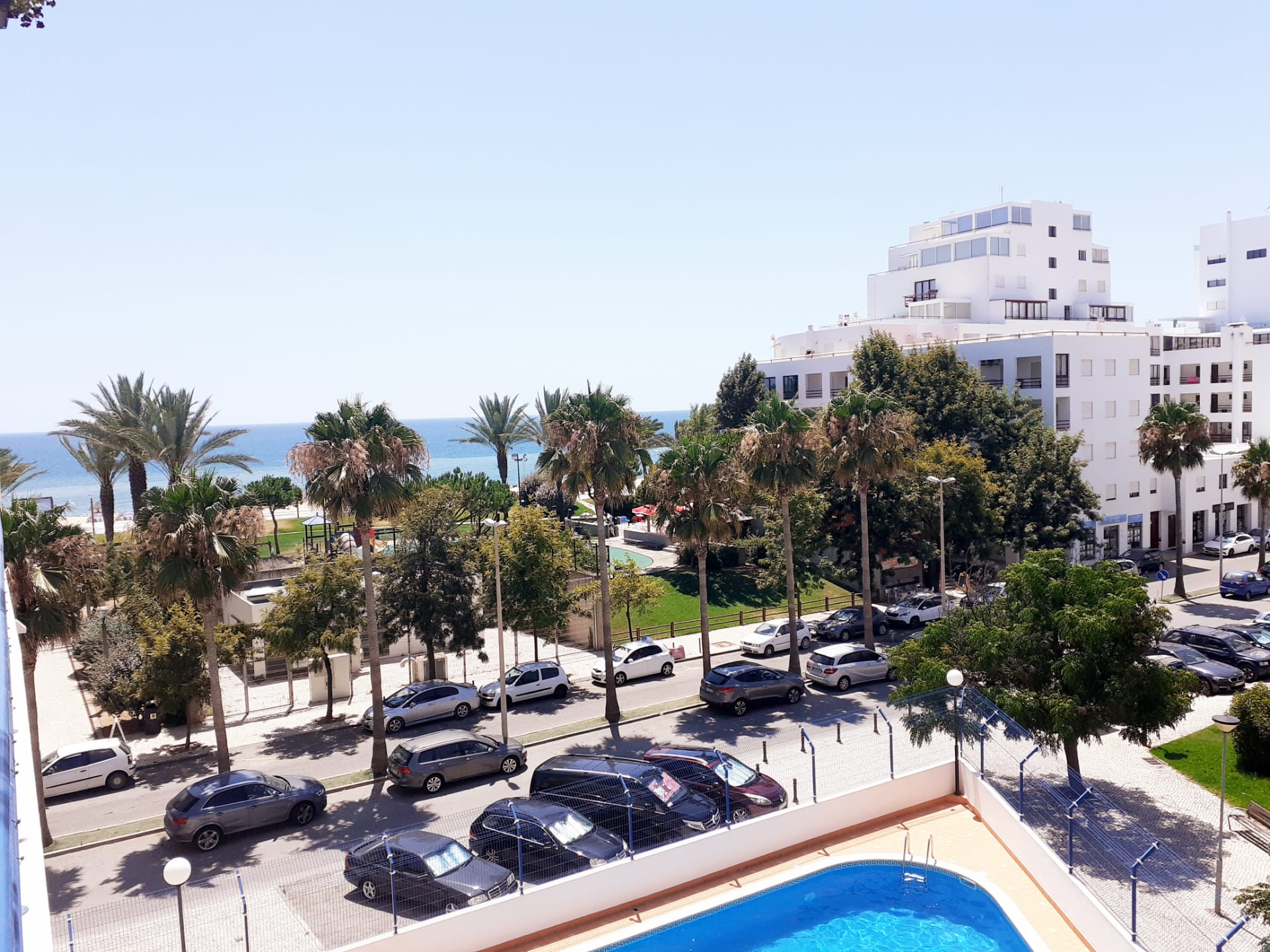Beautiful 1 bedroom with a view in Quarteira