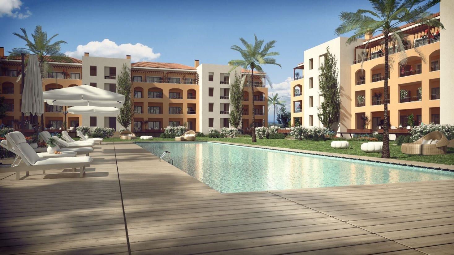 Contrução nova!!  Apartamento 2 quartos – Gardens Vilamoura